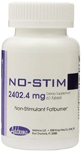Non Stimulant Fat Burner Diet Pills That Work- No Stimulant Appetite Suppressant & Best Caffeine Free Weight Loss Supplement for Women & Men- Natural Thermogenic Fat Loss Pill – No-Stim 60 Tablets