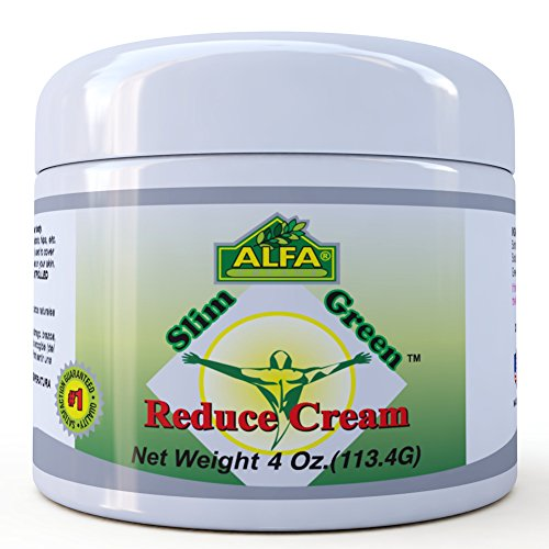 Slim Green Reduce Cream 4 Oz. Help the Weight Loss Diet and Fat Burning