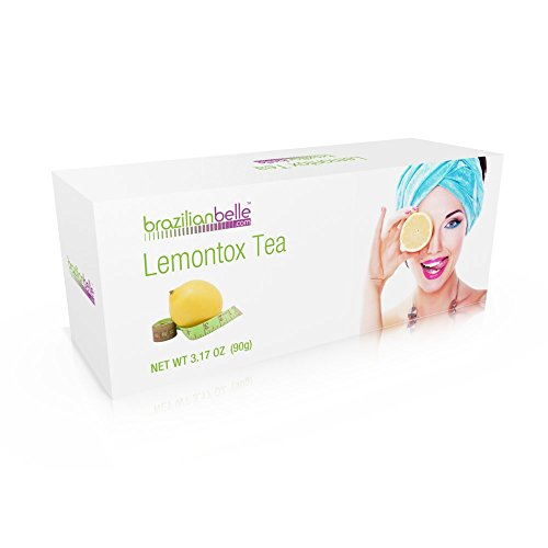 LemonTox Detox & Diet Tea – Weight Loss Skinny Teatox For Skin Health, Fat loss, Body Cleanse, Appetite Control & Overall Well-Being – 100% Natural Lemongrass Tea – Inspired by Lemon Detox Diet