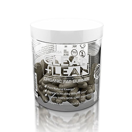 "CLEAN + LEAN -ORGANIC FAT BURNER by FitFarm USA – Worlds First Organic Fat Burner Supports Healthy Weight Loss with 100% Organic Non-Gmo Ingredients! Gluten Free & Vegan 60 Caps- ""Feel the Clean"""