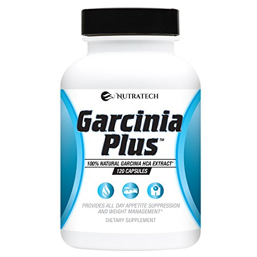 Garcinia Plus- 100% Pure and Natural Organic Garcinia (No Synthetics) with HCA Appetite Suppressant and Weight Loss Aid.