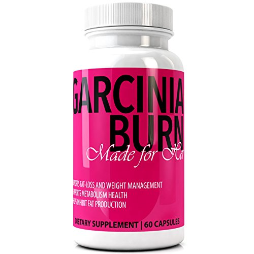 GARCINIA BURN For Her 100% Pure GARCINIA CAMBOGIA EXTRACT Best Diet Pills with Pure HCA | #1 Premium Best All Natural New & Improved Fat Loss Formula and Appetite Control | Made in the USA