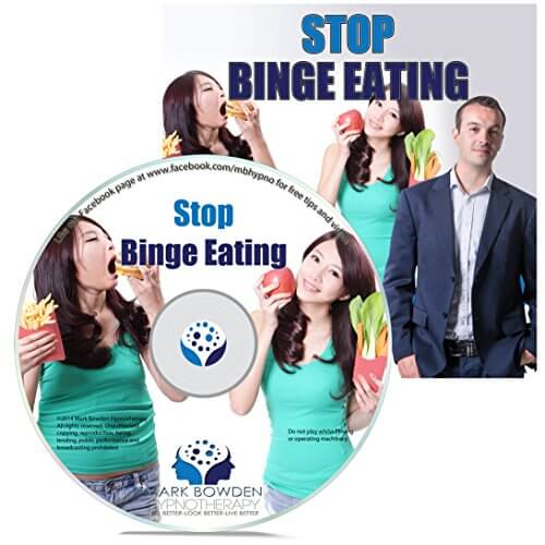 Stop Binge Eating Hypnosis CD – Hypnotherapy session to assist weight loss and fat loss and get your diet working right for a healthier, slimmer and more toned you get your mindset right fast. Include this as part of your plan / program to lose weight