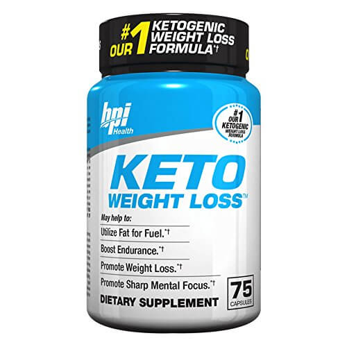 BPI Sports Ketogenic Weight Loss Supplement , 75 Count